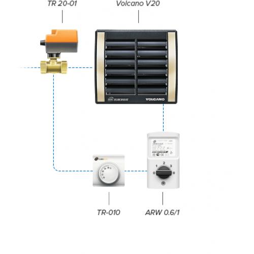 Регулятор частоты вращения ARW 0,6 (IP54) 1-4-0101-0167
