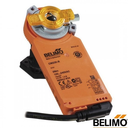 Электропривод воздушной заслонки Belimo(Белимо) CM24-L(R)