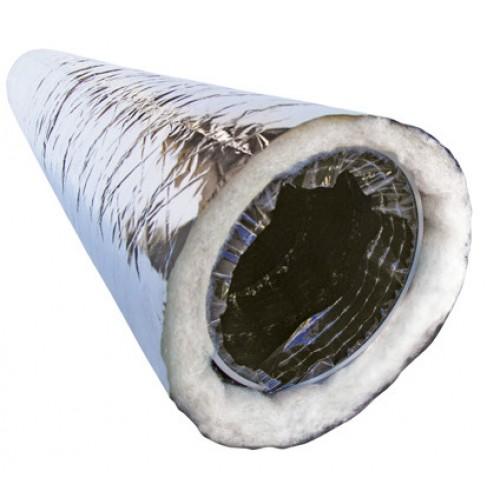 Гибкий воздуховод изолированный 125 мм