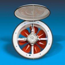 Вентилятор осевой с крышкой Bahcivan BK 200 бахчиван